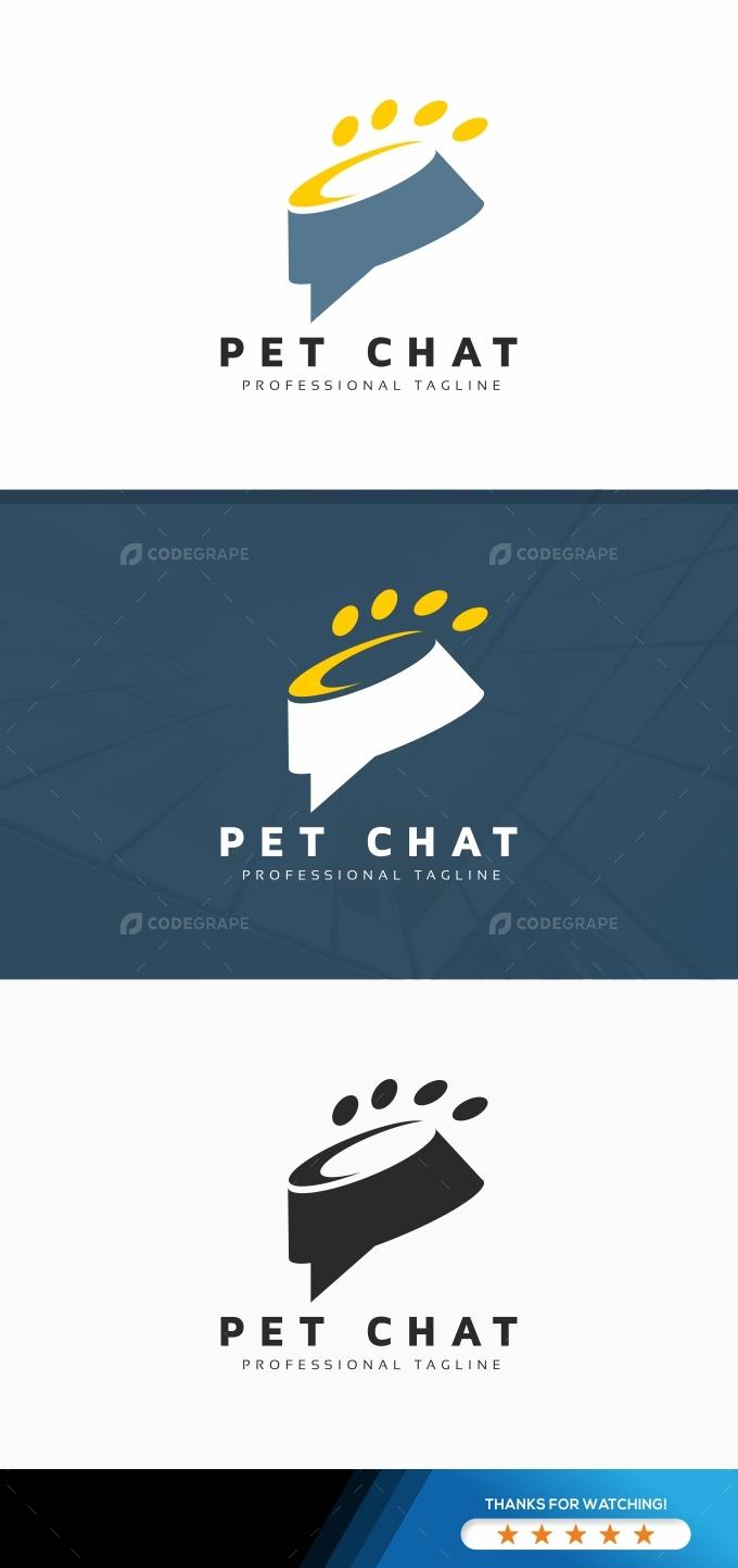 Pet Chat Logo