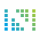 N Letter Pixel Logo