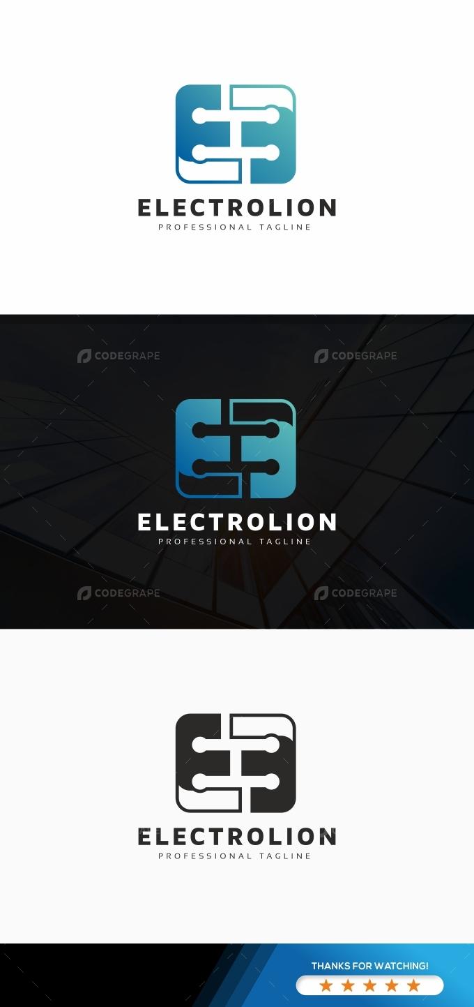 E Letter Tech Logo