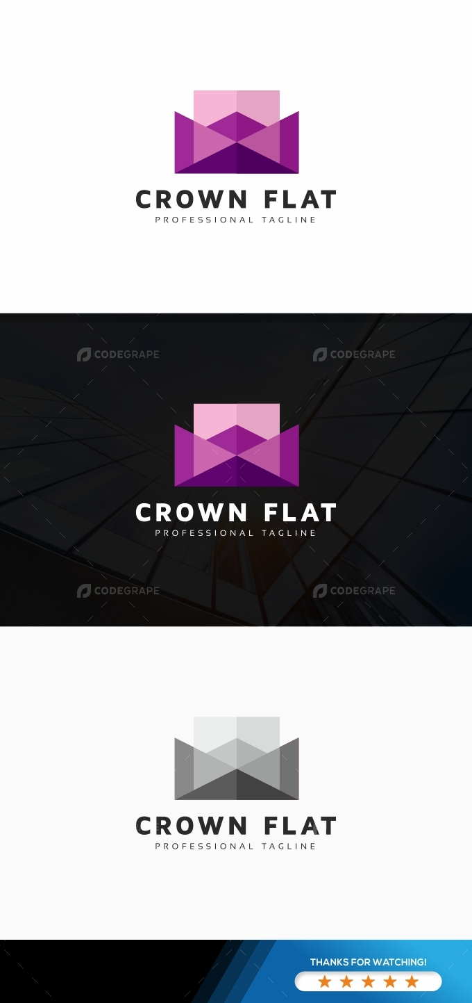 Crown Flat Logo