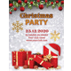 Elegant Christmas Party Flyer