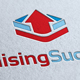 Raising Success Logo Template