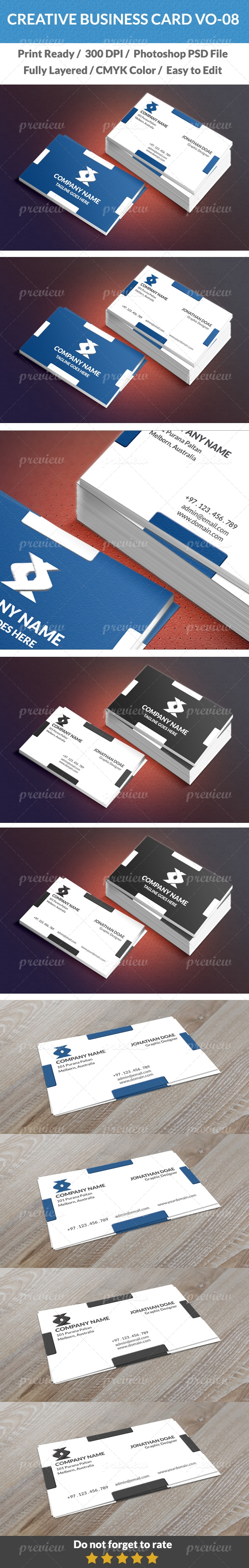 Creative Business Card Vo - 08