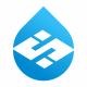 S Letter Drop Logo