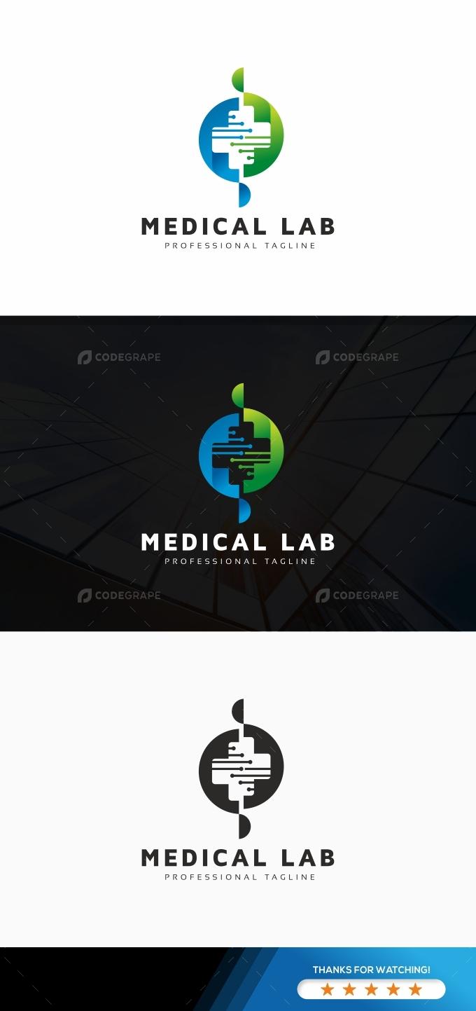 Medical Lab Logo