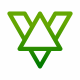 V Letter Line Logo