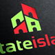 Estate Island Logo Template