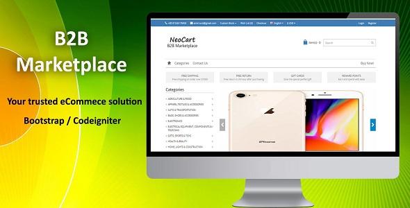 NeoCart - B2B MarketPlace eCommerce System