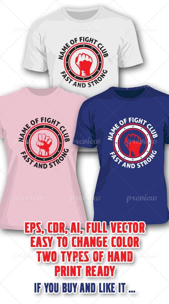Fight Club 2 Kinds T-shirt