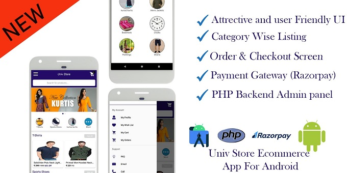 Univ Store Ecommerce App For Android