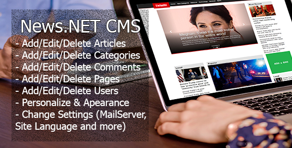 News.NET CMS (Webform .NET Framework)