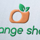 Orange Shot Logo Template