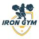 Iron Gym Logo Design