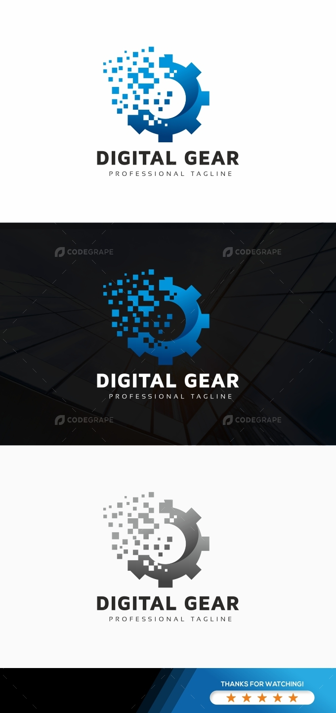 Digital Gear Logo