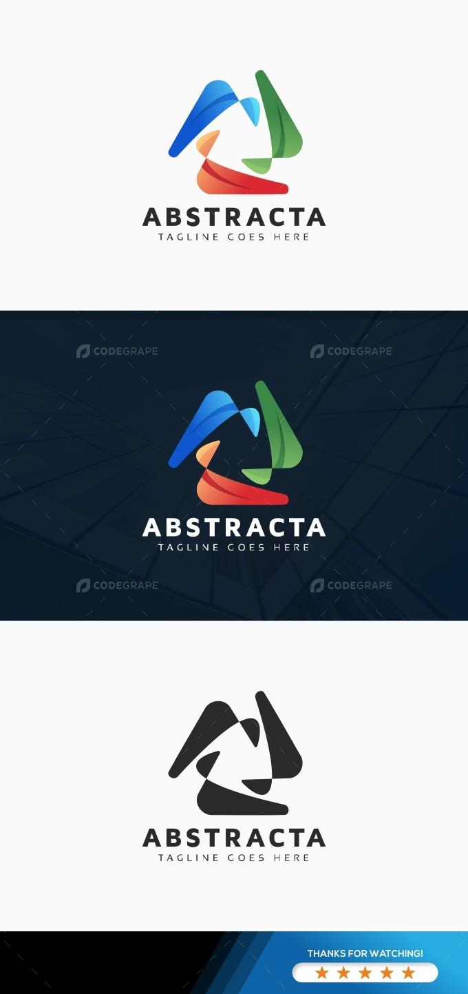 Abstract Rotation Logo