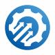 Gear Arrows Logo