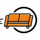 Sofa Moving Logo