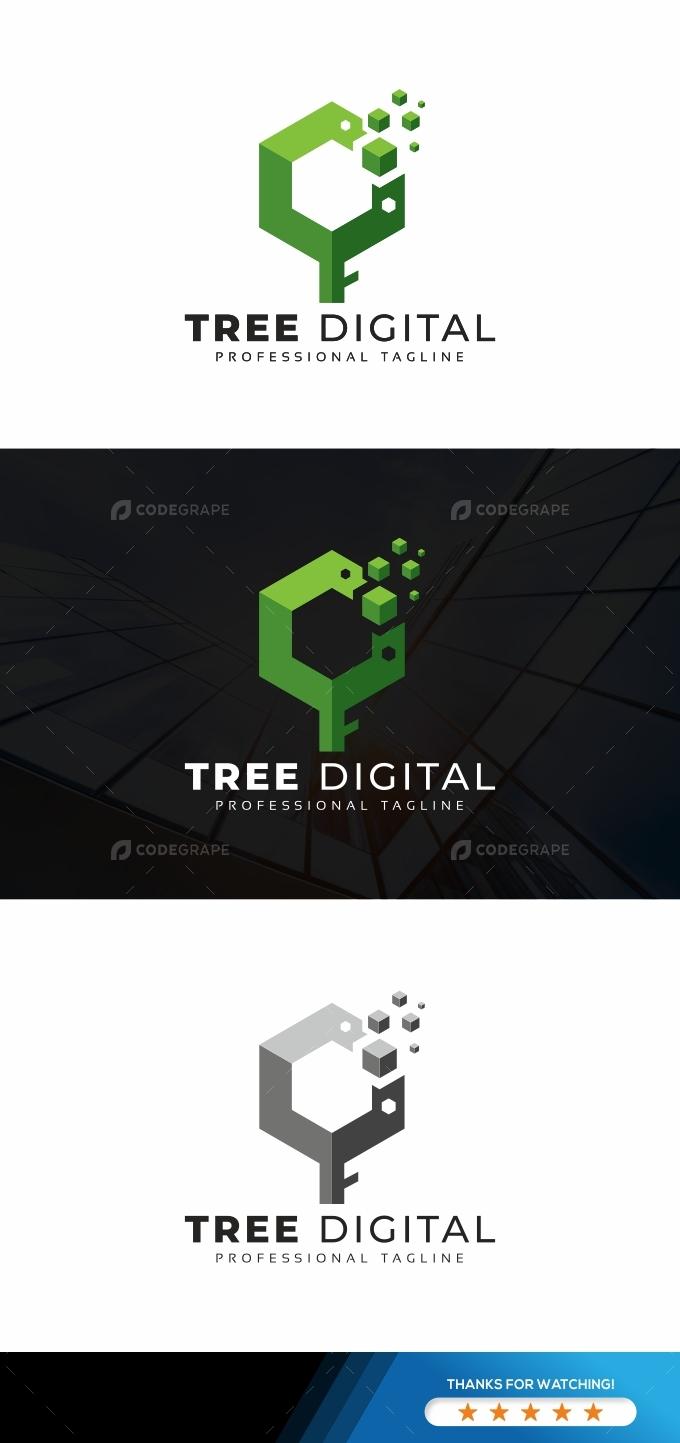 Tree Digital Logo
