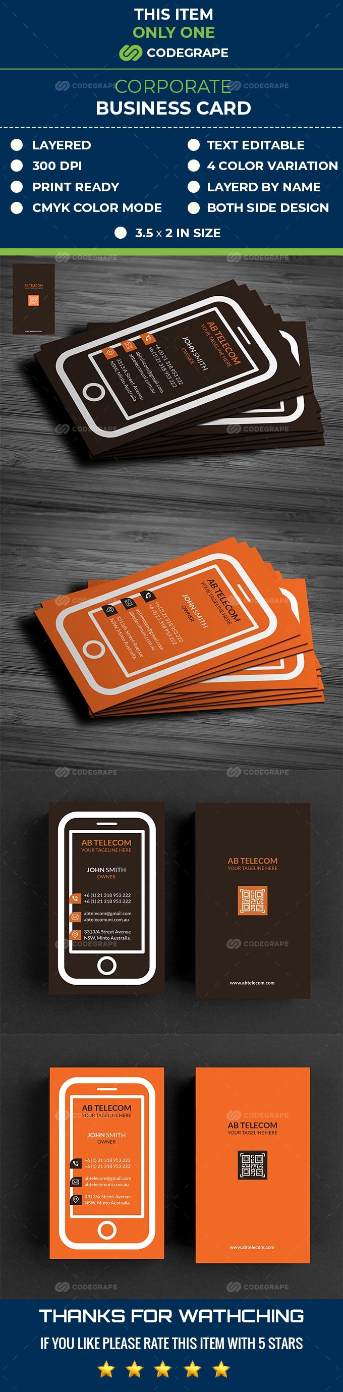 Telecom Business Card