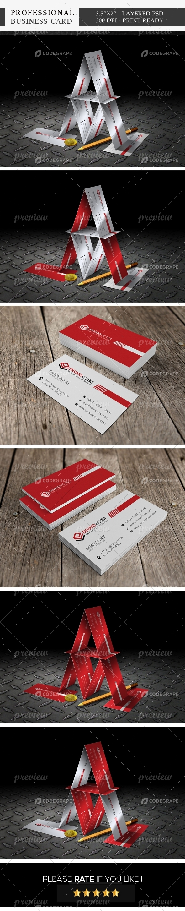 Professional Business Card 04