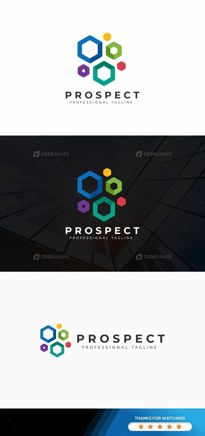 Abstract Hexagon Logo