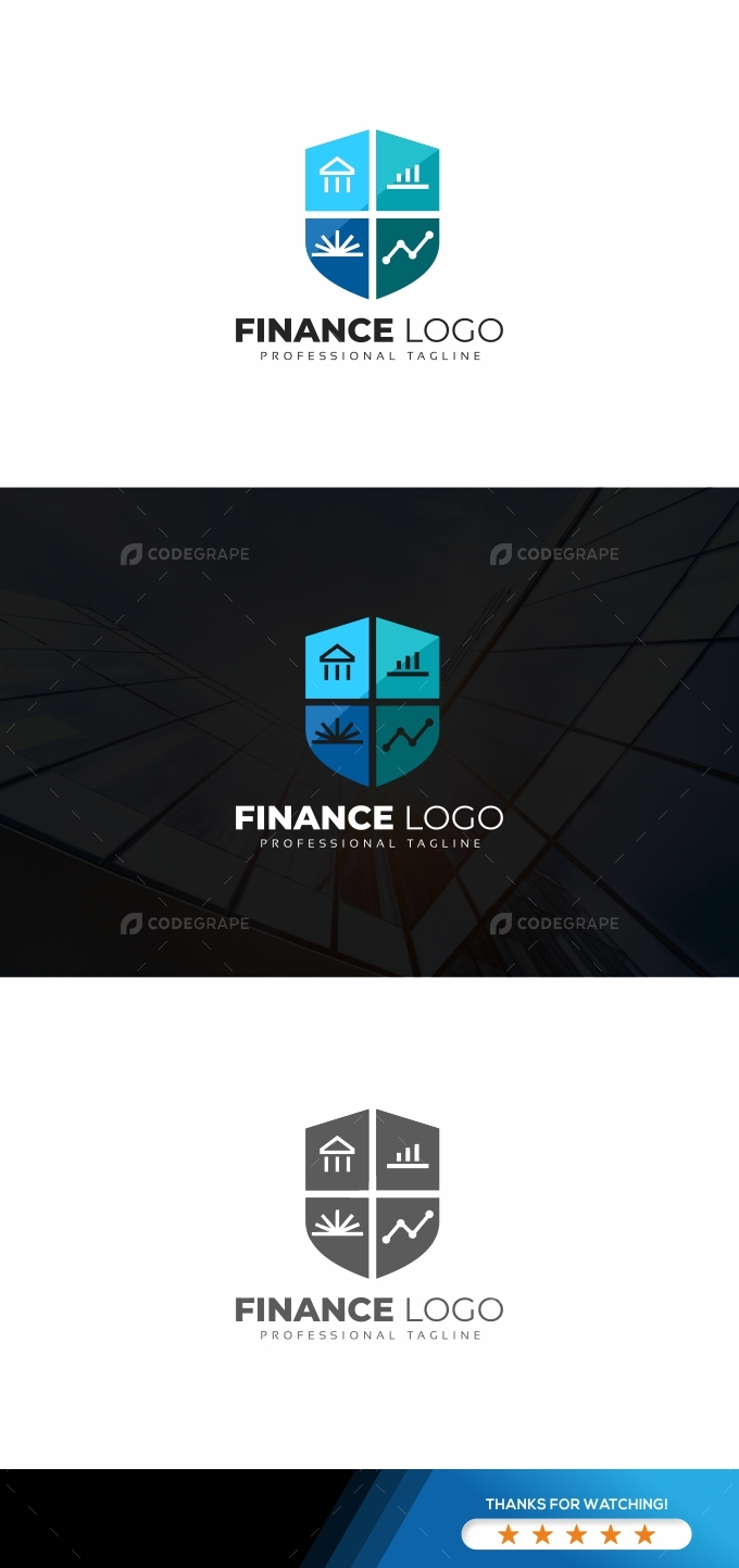 Finance Shield Logo