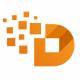 D Letter Pixel Logo