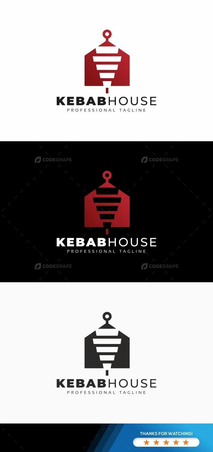 Kebab Doner House Logo