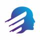 Finance Human Head Logo
