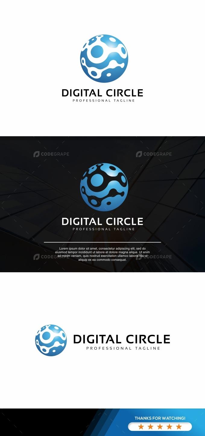 Digital Circle Logo