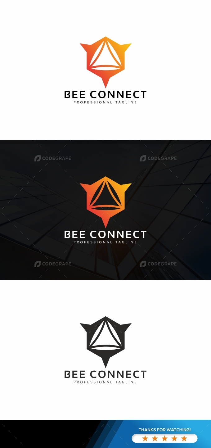 Bee Connect Logo