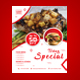Special Food Promotional Flyer Template