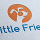 Little Friend Logo Template