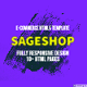 Sageshop E-commerce HTML Template