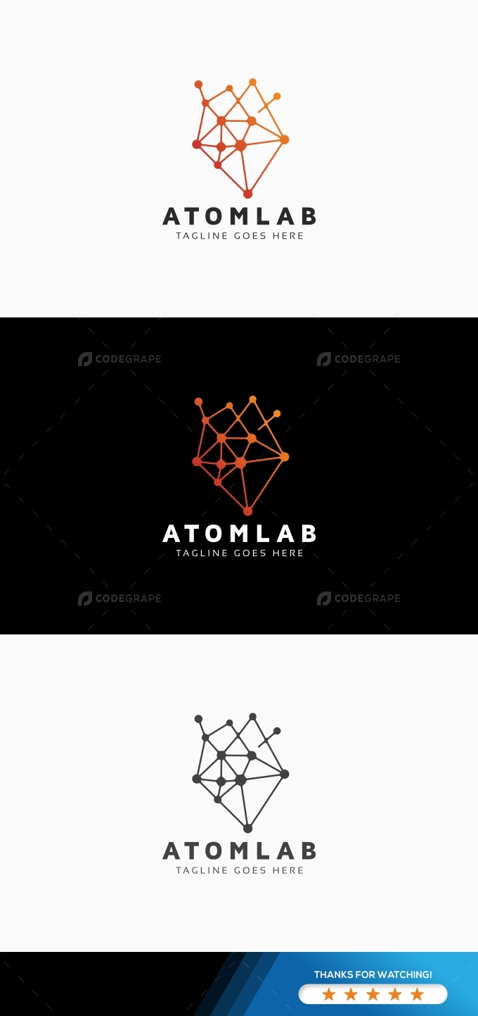 Atom Lab Logo