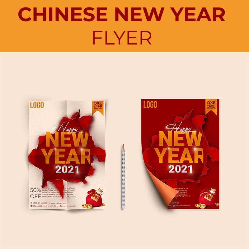 Chinese Happy New Year Flyer