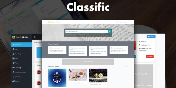 Classific - Free Classified Ad PHP Script