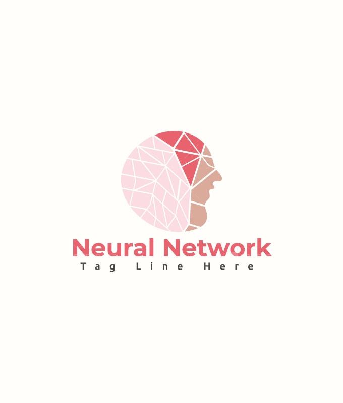 Neural Network Logo Template