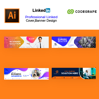 LinkedIn Cover Design Template