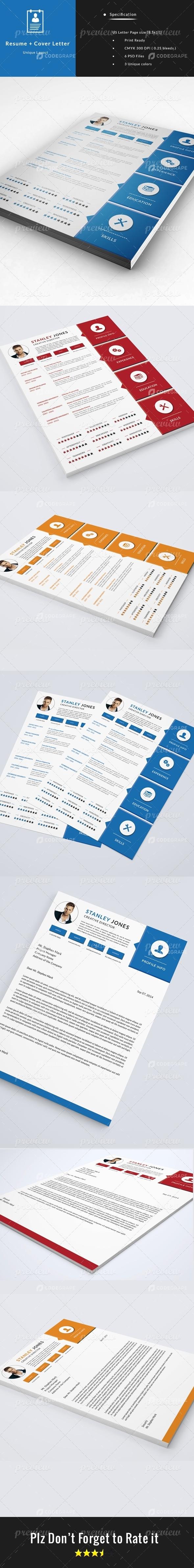 CV - Resume + Cover Letter