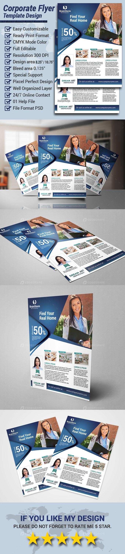Corporate Flyer Design Template 2021