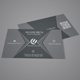 Simple Creative Corporate Business Card - 1