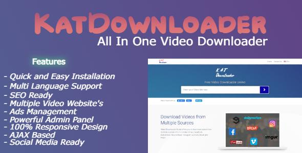 KatDownloader - All In One Video Downloader