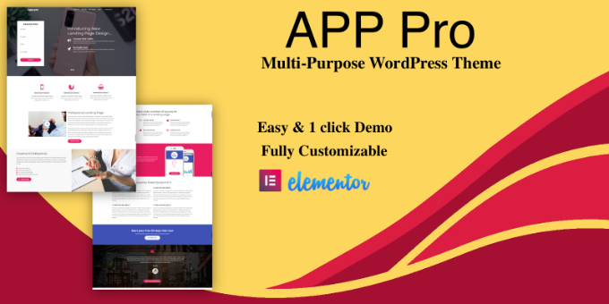 App Pro - Premium WordPress Theme