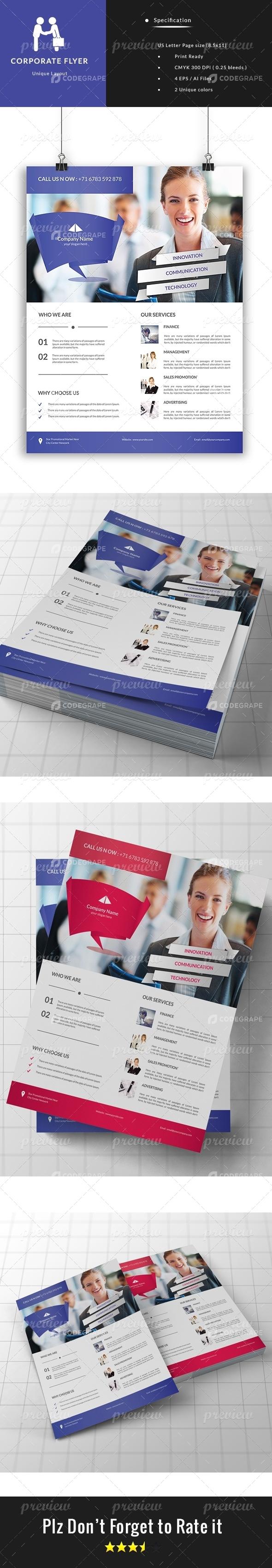 Company Advance Flyer