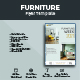 Clean Furniture Flyer Design