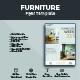 Clean Furniture Flyer Design