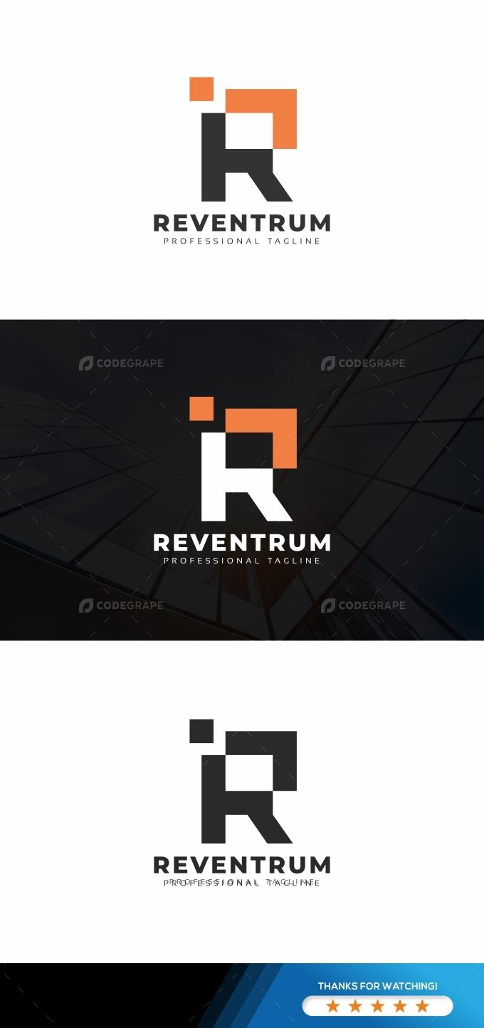 Reventrum R Letter Logo