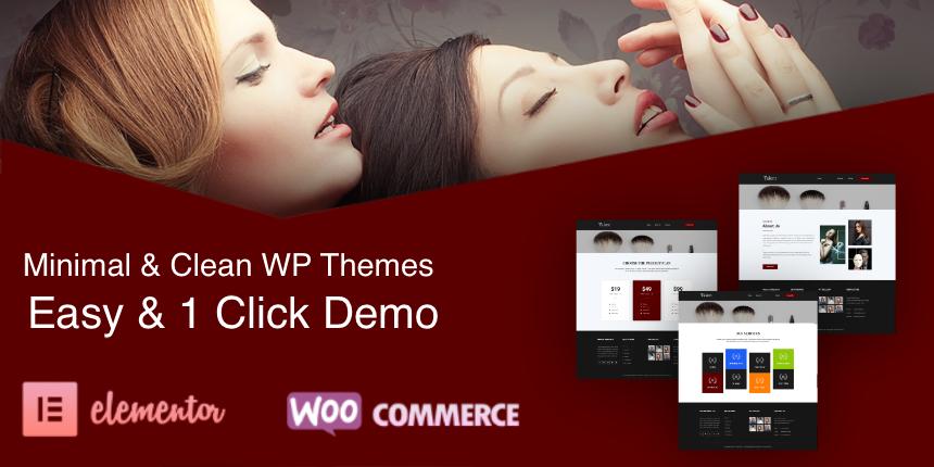 Talent Pro - Minimal & Clean WordPress Theme