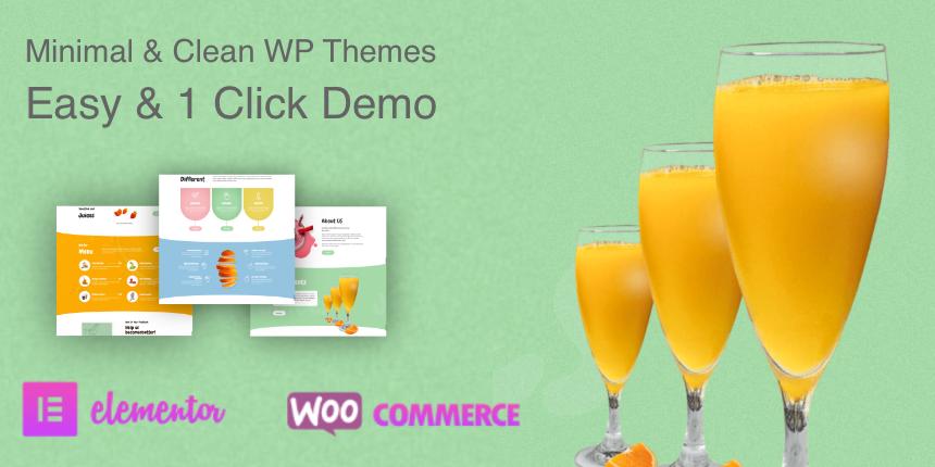 Juicebar Pro - WordPress Theme